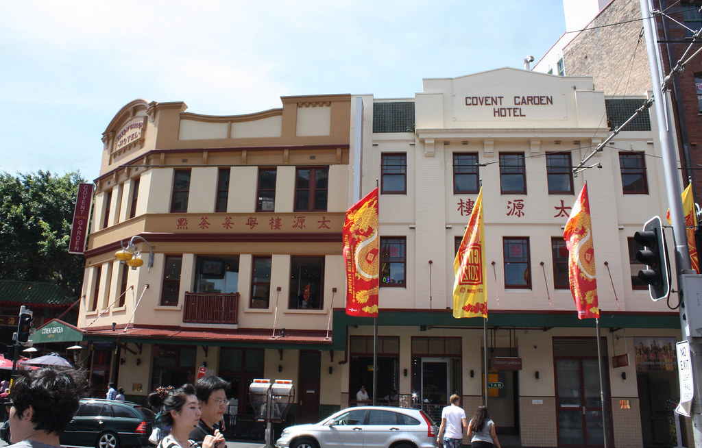 Covent garden hotel sydney nsw 102 108 hay street for Hotel a covent garden