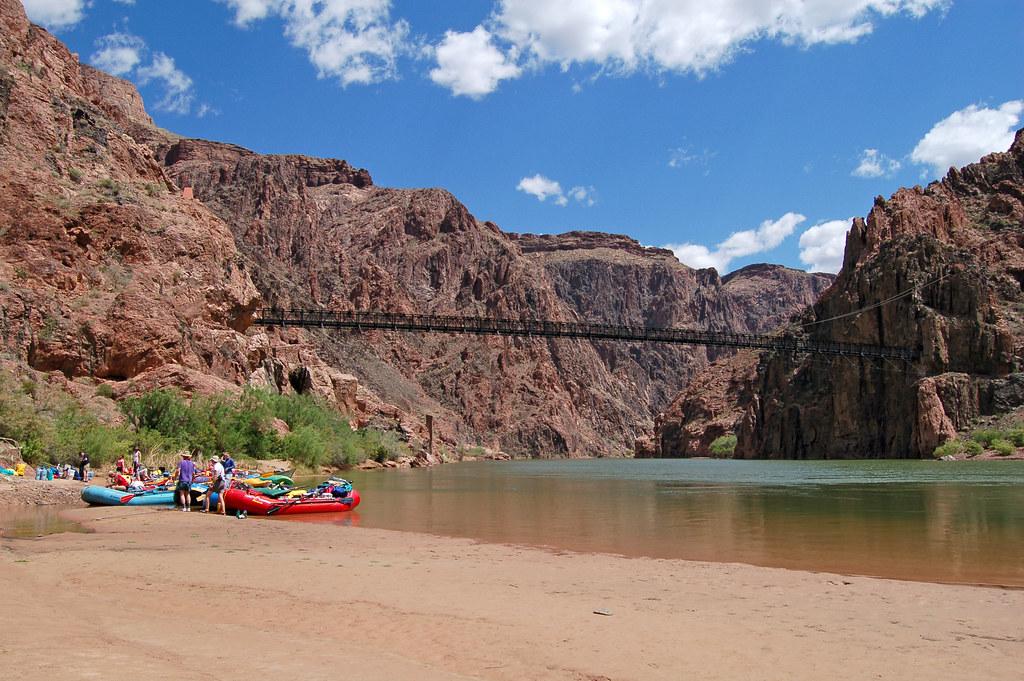 Grand Canyon National Park Phantom Ranch Boat Beach 0042