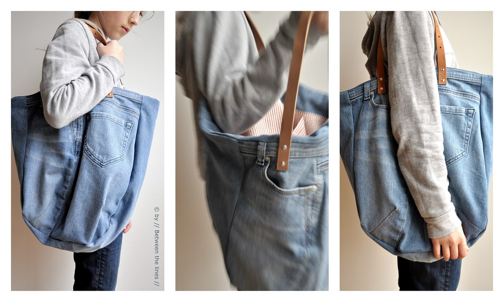 Repurposing An Old Pair Of Jeans A Diy Blogged Here Between The Lines Flickr