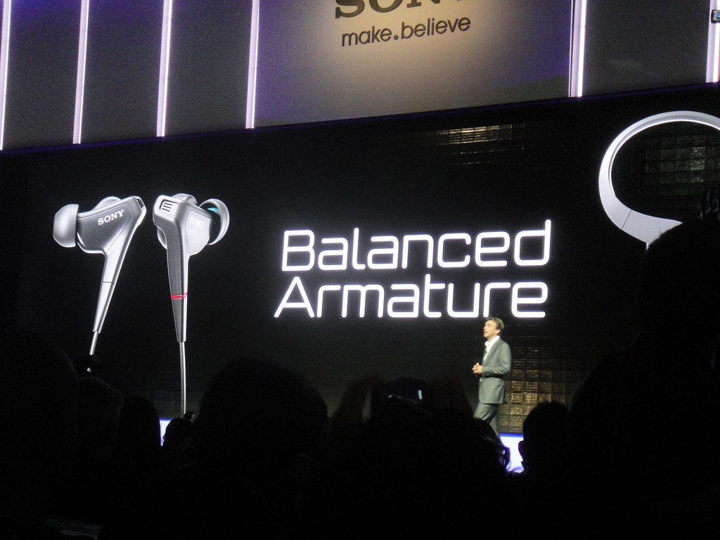 CES 2012 - Sony press event - Balanced Armature | Flickr - Photo ...