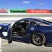 Blue Ferrari 599XX