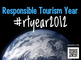 Attention responsible travel fans: the hashtag for sharing news throughout the year: #rtyear2012 | by planeta