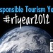 Attention responsible travel fans: the hashtag for sharing news throughout the year: #rtyear2012