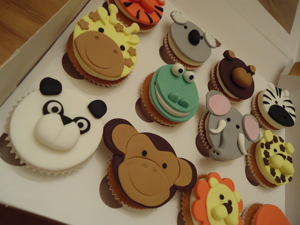 Jungle Animals For Cakes