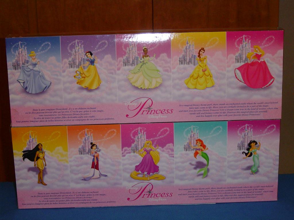 Mini Princess 5 Doll Boxed