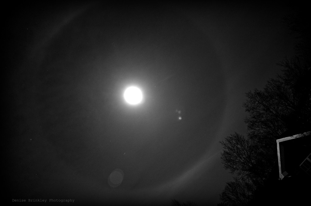 dec 9th lunar ring tonight s ring around the moon on