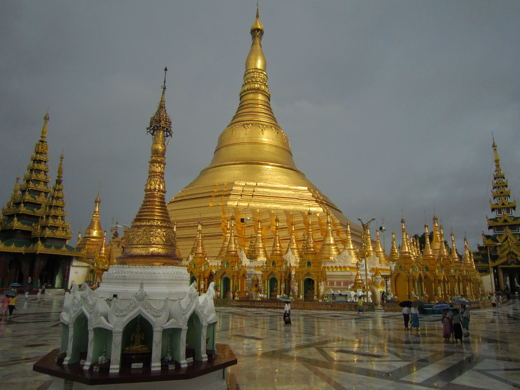 Myanmar Temple Myanmar Is Opening Up To Tourism As We