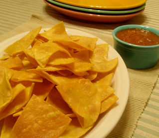 Fresh Tortilla Chips and Salsa | by texascooking