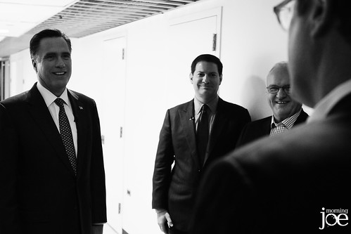 Fmr. Gov #MittRomney, R-Mass., and 2012 GOP presidential candidate #MittRomney... | by Morning Joe show