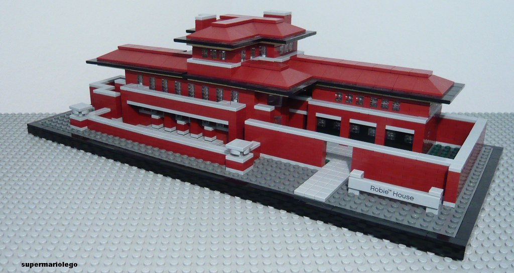 21010 robie house | lego architecture set - 21010 watch the … | flickr