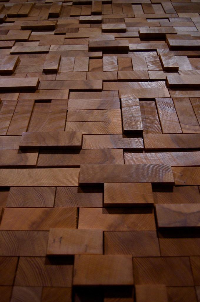 wood block wall. | dewdropshots | flickr