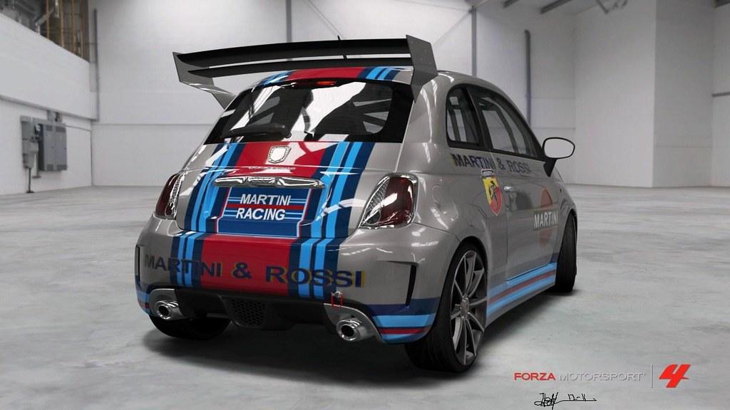 2010 Abarth 500 Esseesse Martini Amp Rossi Race Team Flickr