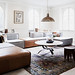 Skeppsholmen {eclectic vintage scandinavian modern living room}