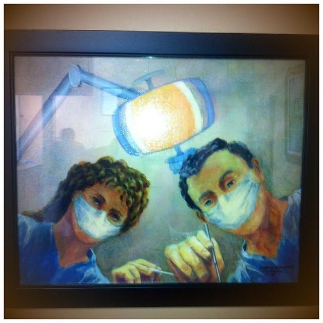 art in a dentist's office