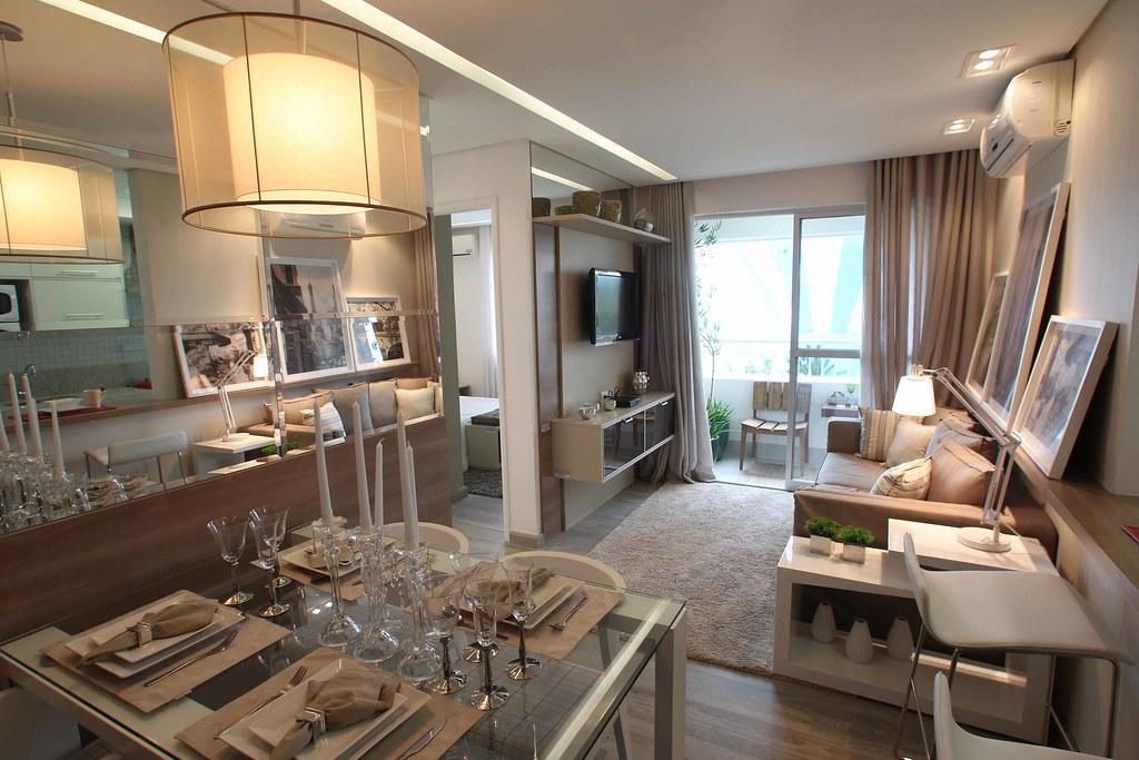 Sala De Estar Pequena Apartamento Sofa De Canto ~ Sala (apartamento decorado)  Direcional Engenharia  Flickr