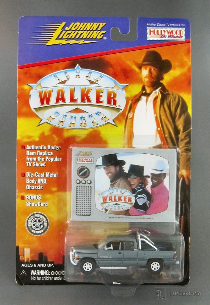 WALKER TEXAS RANGER 1:64 scale die cast DODGE RAM TRUCK Mi… | Flickr