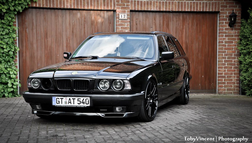 bmw 540i e34 touring wagon vader my 540i touring tobi flickr. Black Bedroom Furniture Sets. Home Design Ideas