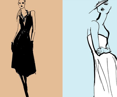 How To Fashion Design Sketch Fashion design sketch by