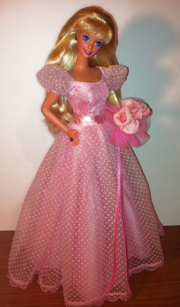 Barbie Wedding Day Bridesmaid 1990 This Is My Second