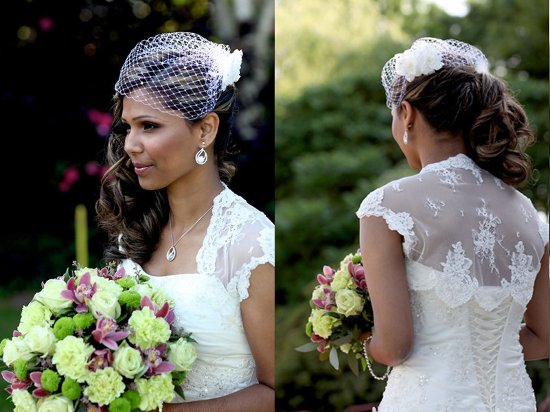 Super Indian Bridal Hairstyle Sideswept Victoria Flickr Hairstyles For Women Draintrainus