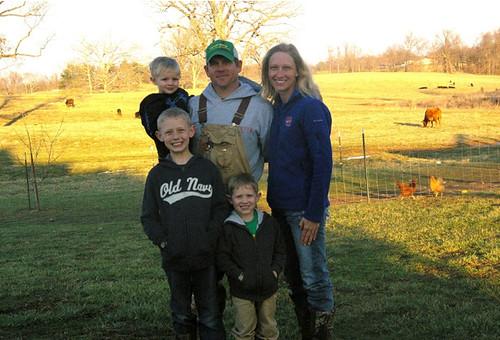 Jake and Jondra Shadowen and family