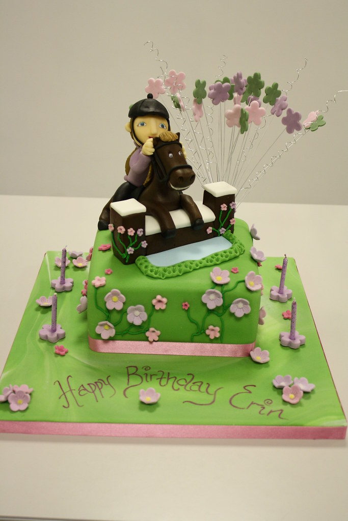 Cake Horse Jumping By Kate Jules Enquiries