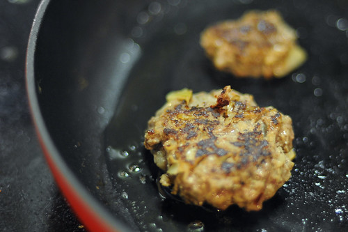 Cook patties with ghee or coconut oil in a skillet | by dzignjulz