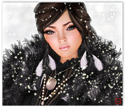 Winter White & A Smudge o' Coal Black | by ☆Teshan★