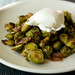 Roasted Brussels Sprouts with Bacon and Herbs