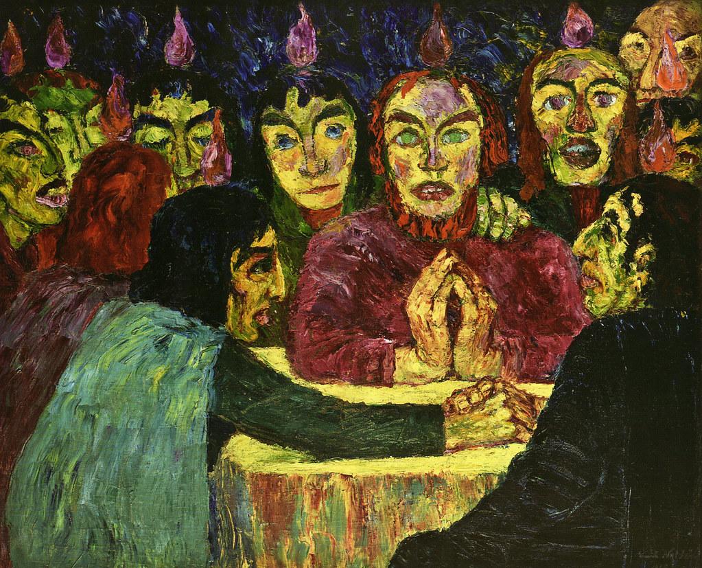 Nolde, Pentecost (1909)