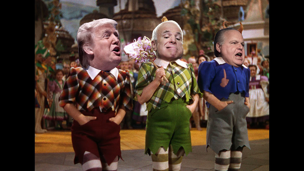 Trump McCain and Limbaugh are the Lollipop guild | From ...