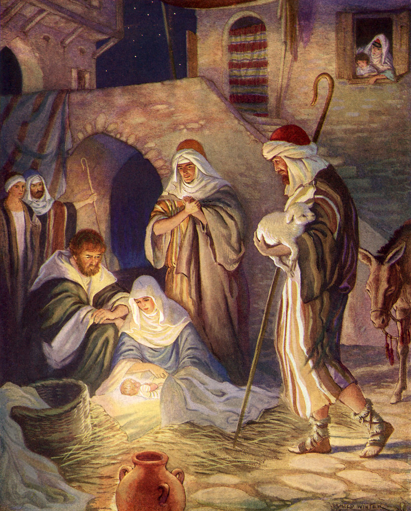 Milo Winter, Nativity Scene