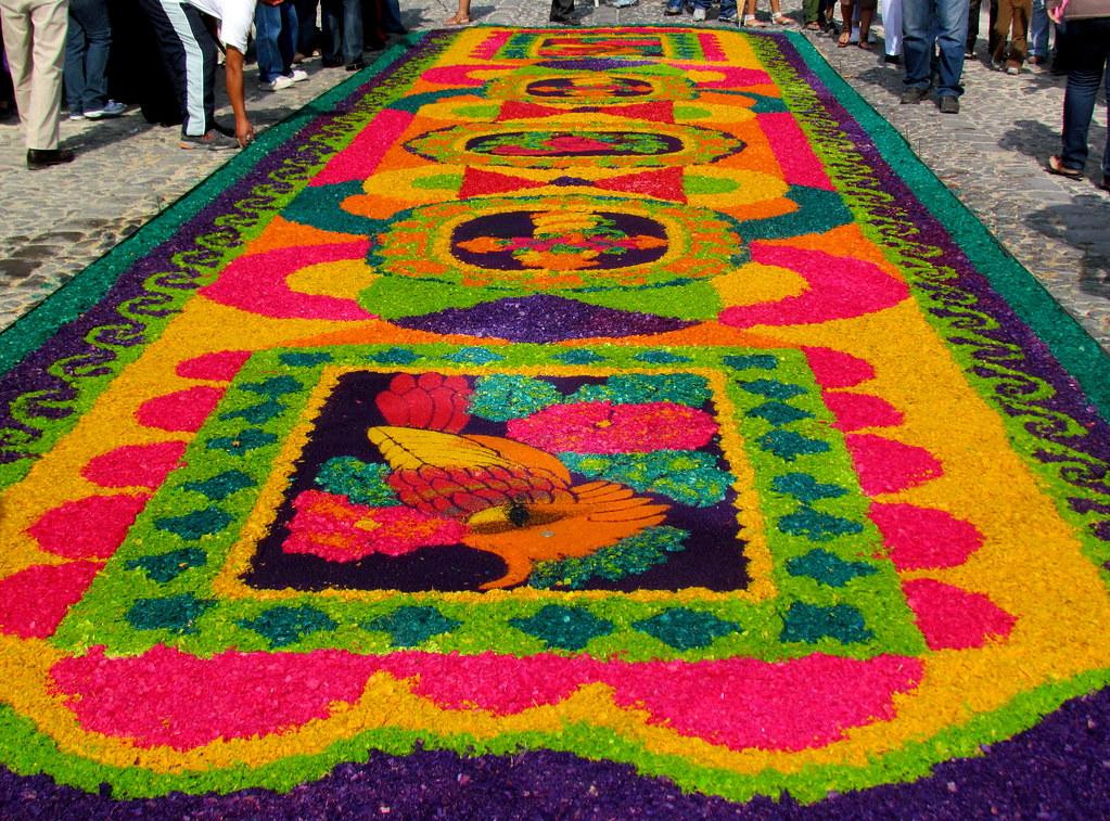 Alfombras para la procesi n del quinto domingo de cuaresma for Precio de las alfombras persas
