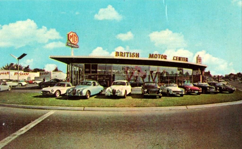 british motor center ltd san jose ca mg jaguar austin flickr. Black Bedroom Furniture Sets. Home Design Ideas