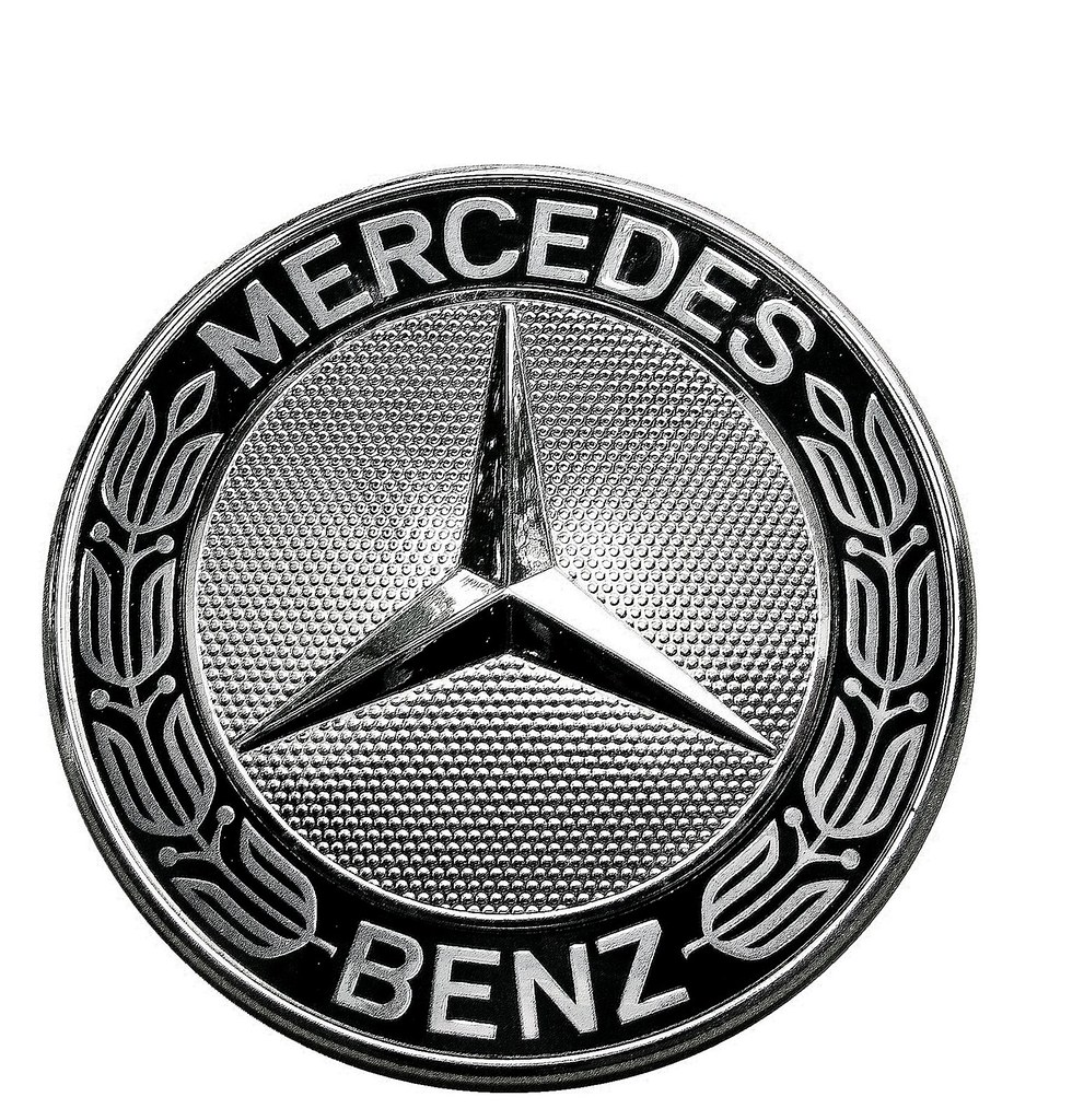 Mercedes benz emblem 2010 logo history on white for Mercedes benz insignia