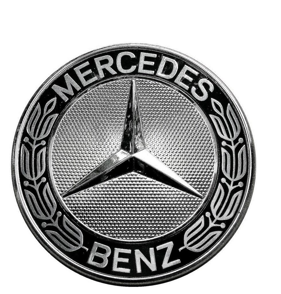 Mercedes benz emblem 2010 logo history on white for Mercedes benz decal