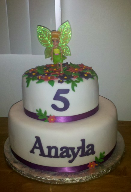 My Niece Anayla s Birthday Cake Flickr - Photo Sharing!
