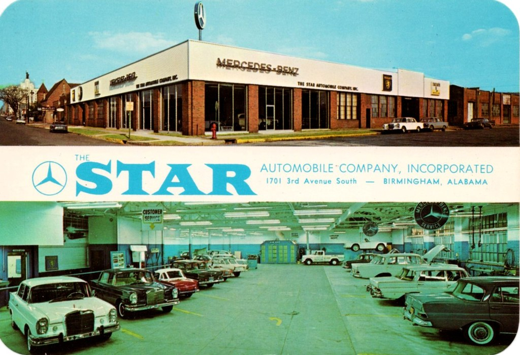 Star automobile co mercedes benz birmingham al flickr for Mercedes benz jobs alabama