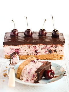 Chocolate Chip Cherry Cheesecake | by raspberri cupcakes