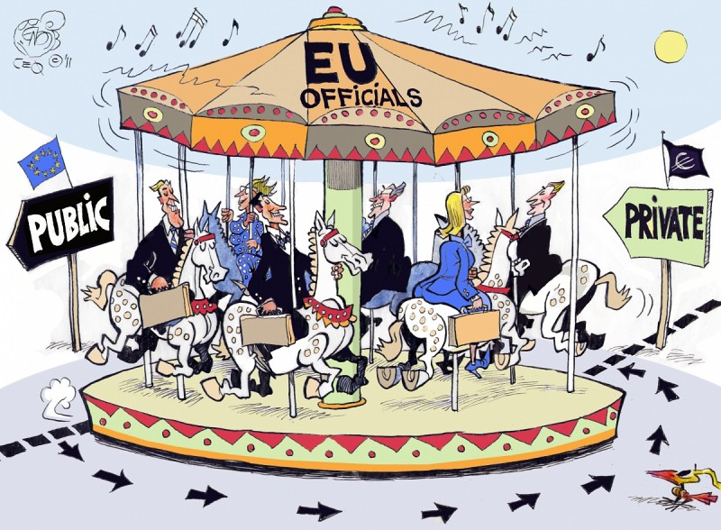Block the Revolving Door cartoon | Today ALTER-EU ...