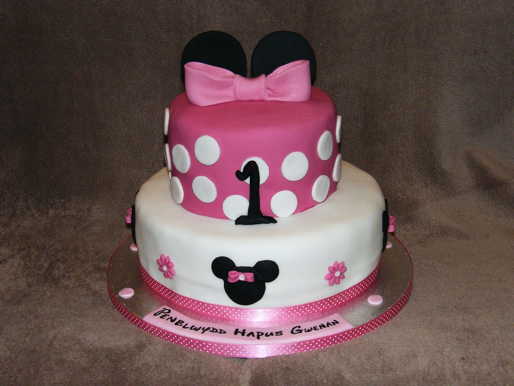 Minnie Mouse Cake Ideas Without Fondant