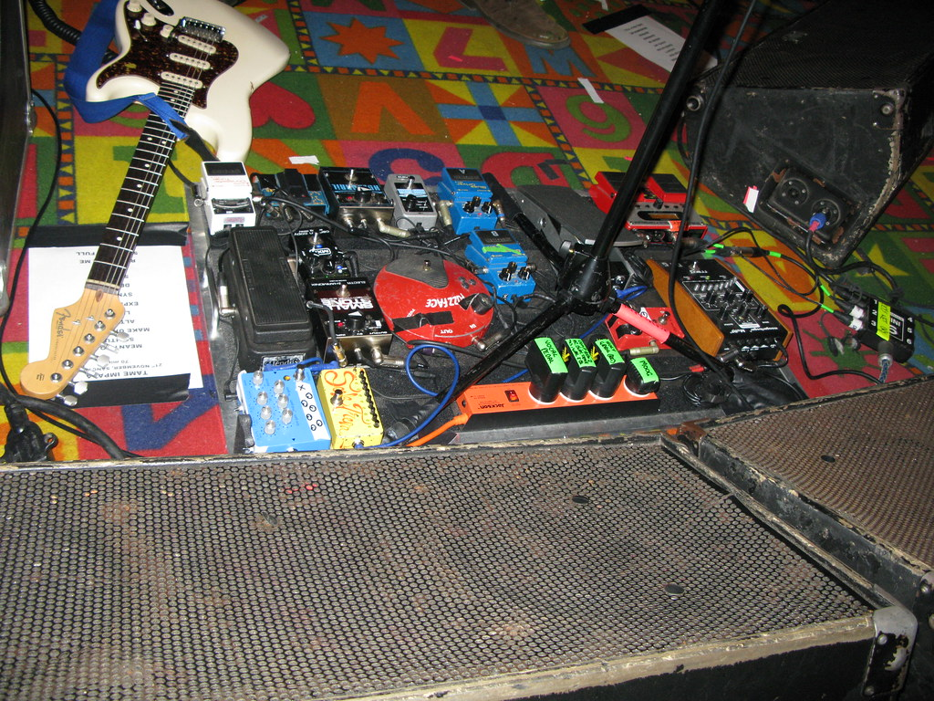 Tame Impala Pedals Jory Fox Flickr