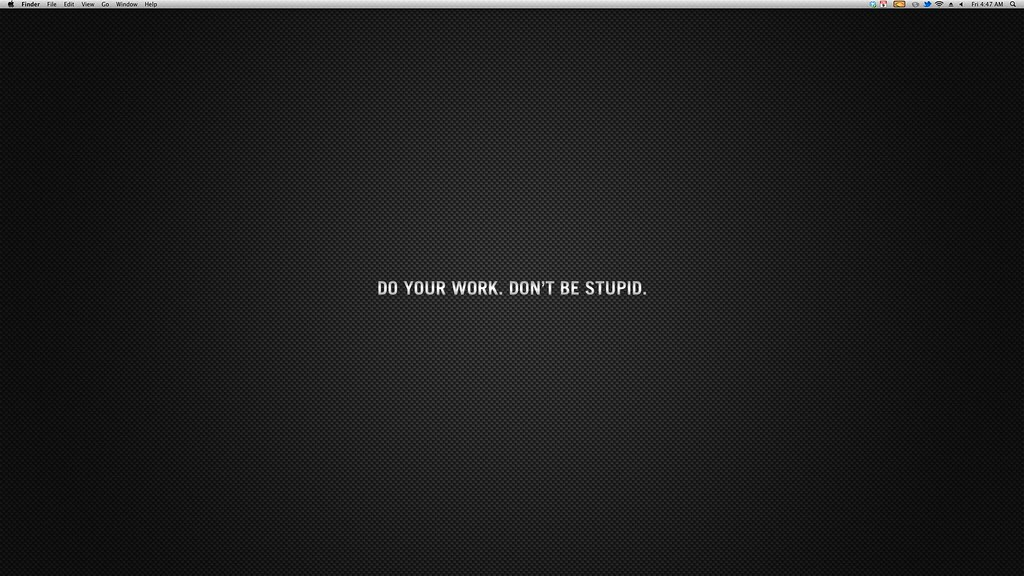 Mac mini desktop wallpaper   Working from home (and