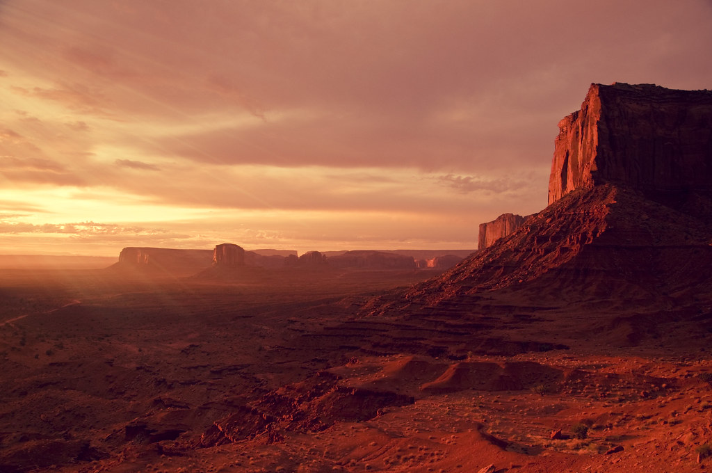 Return To Mars Monument Valley Sunset Follow Me On