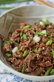 Cumin Beef 孜然牛肉 | by pigpigscorner
