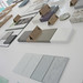 our studio materials table
