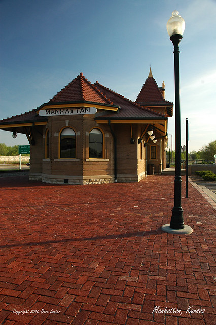 Manhattan Kansas Depot Flickr Photo Sharing