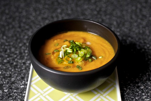 miso-carrot soup | by smitten kitchen