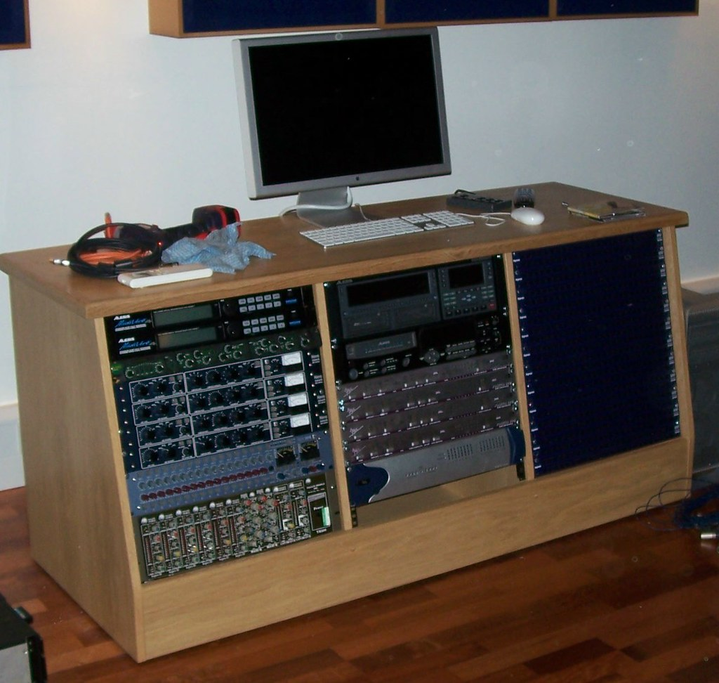 Recording Studio Furniture 3 Bay Studio Rack A Custom Bui Flickr