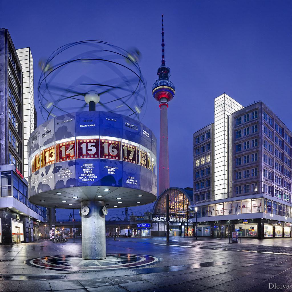 World Clock Berlín Alexanderplatz (Germany) | Para ver mi ...